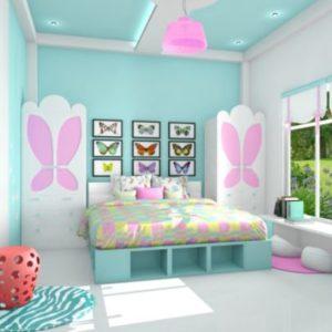 Langkah Mudah Membuat Anak Betah di Kamar Tidurnya